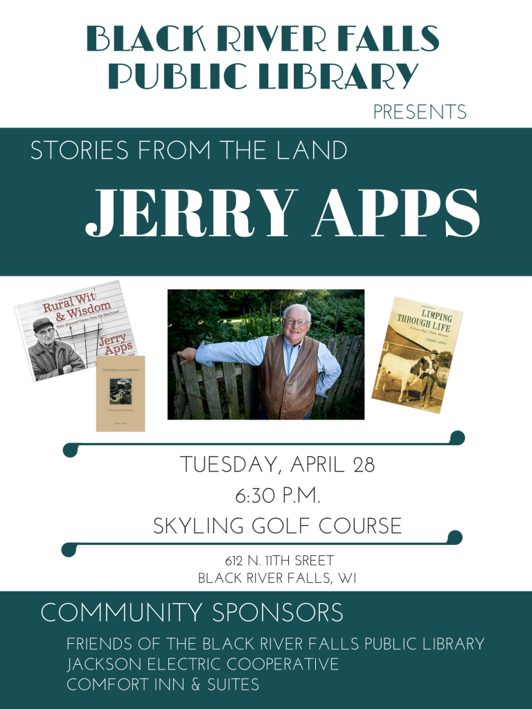 Jerry Apps flyer