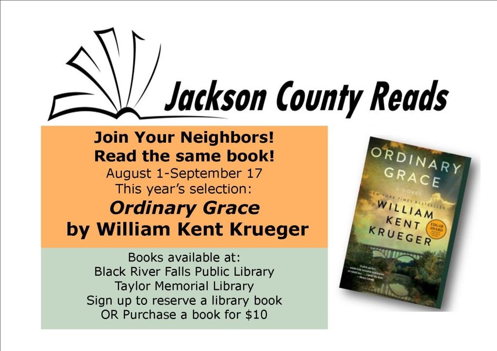 Jackson County Reads  post