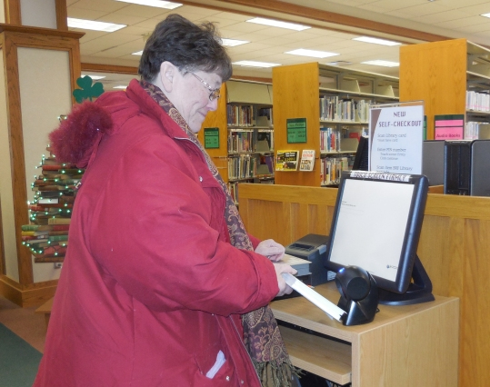 New at the Library - Self-Checkout!