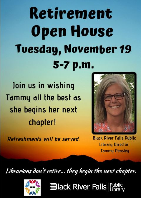 Retirement Open House for Tammy Peasley