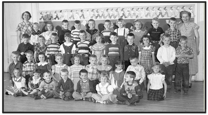 690 BRF Grade School Kindergarten 1953