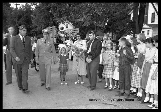 717 POW Ralph Krueger Homecoming Spet 1953