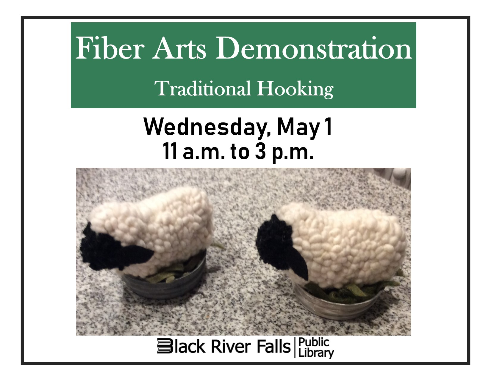 Fiber Arts Demonstration
