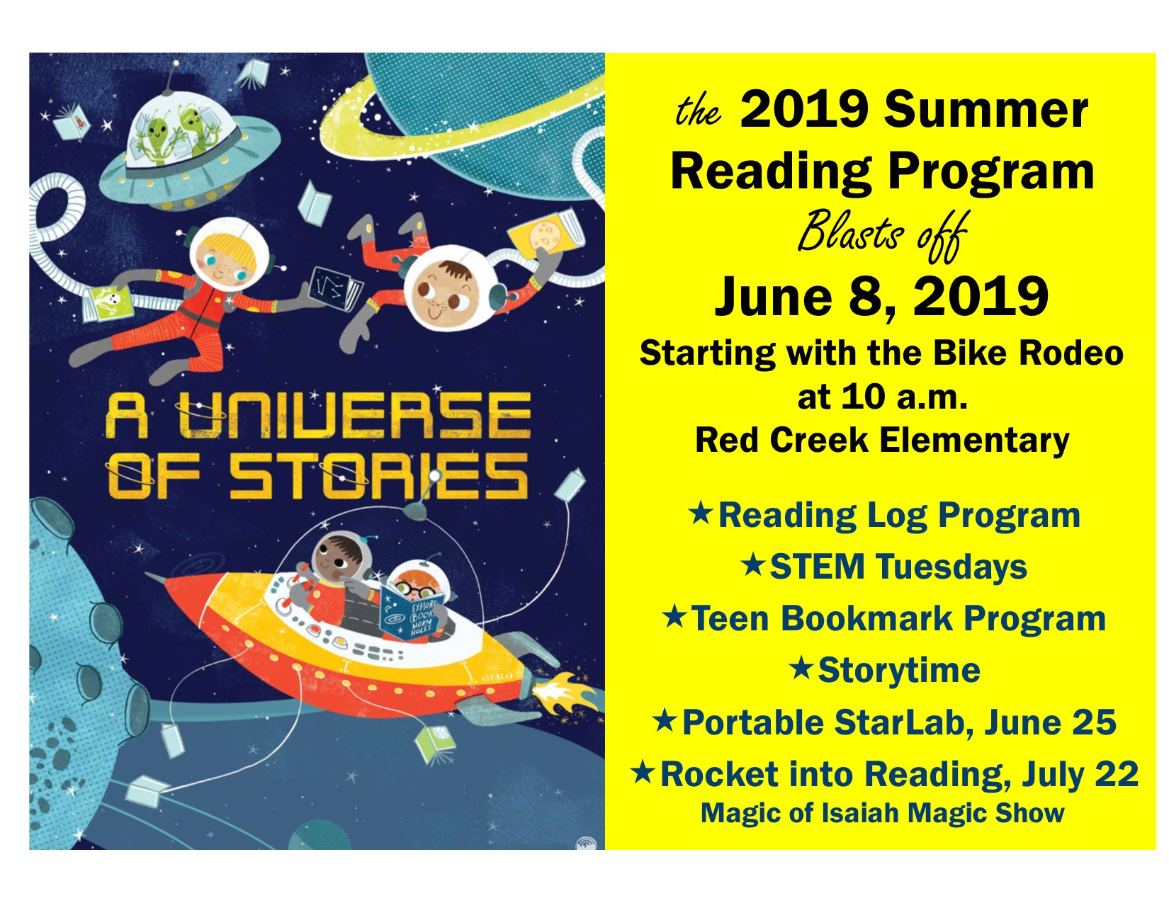 Summer Reading Program Begins!