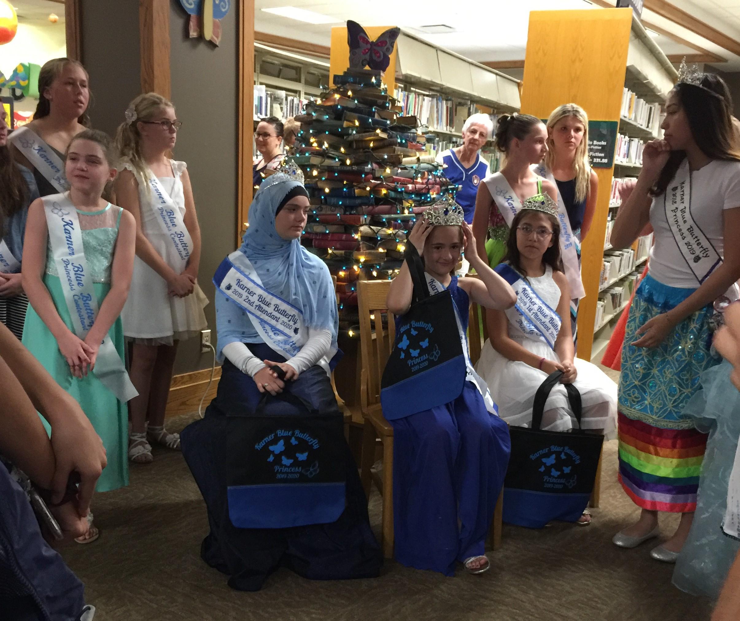 Karner Blue Princess Coronation