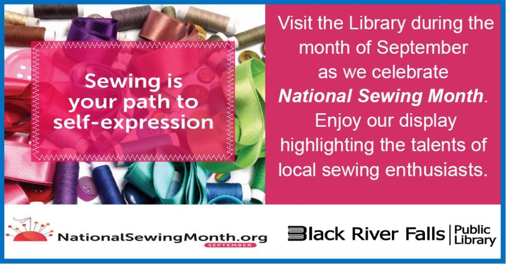 National Sewing Month Display