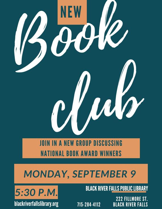 New 'Book Club' Meeting @ the Library!