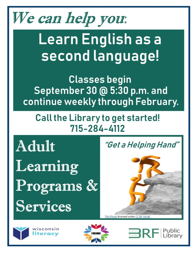 Learn English as a Second Language Class