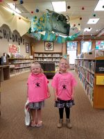Elsie and Audrey 1000 Books